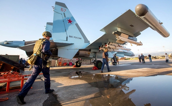 У российской авиабазы Хмеймим в Сирии сбили «неизвестный беспилотник»